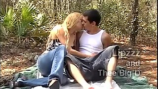 Amateur couple films themselves fucking in the woods