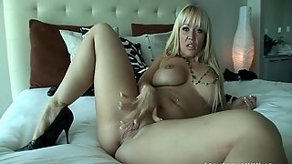 Blonde MILF Takes Care Of Black Dong - Austin Taylor