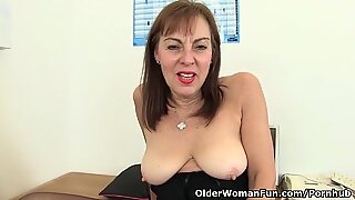 brit office lady needs orgasmic ease